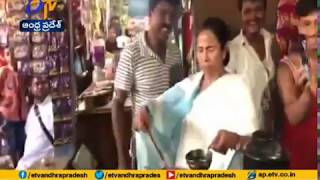 Mamata Banerjee Makes & Shares Tea | with Locals | in Digha