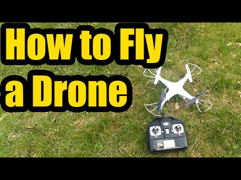 How to Fly a Quadcopter/Drone (Basic Tutorial) - UCqaH_kMb09h9iEpRRVwIGEg