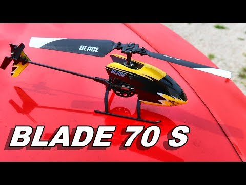 Extremely Beginner Friendly RC Helicopter - BLADE 70 S - TheRcSaylors - UCYWhRC3xtD_acDIZdr53huA