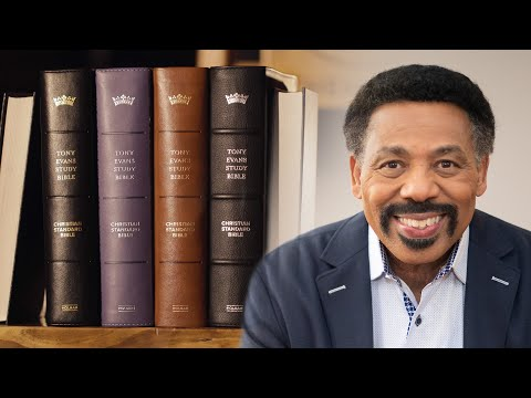Introducing the Tony Evans Study Bible