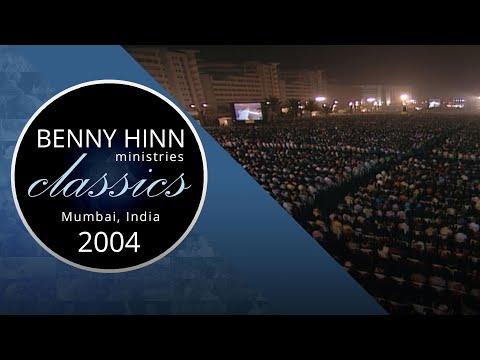 Benny Hinn Ministry Classic - Mumbai, India 2004 Part 1