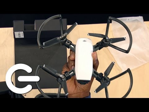 Unboxing The DJI Spark Fly More Combo - The Gadget Show - UCOZlALOP7ZqodgQgH4BybqA