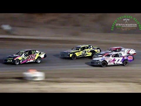 Desert Thunder Raceway IMCA Stock Car Main Event 6/26/21 - dirt track racing video image