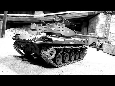 Танки в городе ... Обзор американского танка M41A3 Walker Bulldog - UCvsV75oPdrYFH7fj-6Mk2wg
