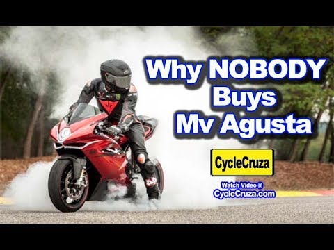 5 Reasons Why NOBODY Buys MV AGUSTA Motorcycles