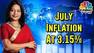 Retail Inflation Eases Marginally To 3.15% In July From 3.18% In June