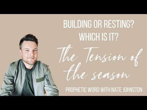 Which is it? Building or Resting? // The tension of the season