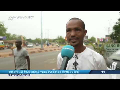 Mali : Au moins 115 morts dans un massacre dans le centre du pays