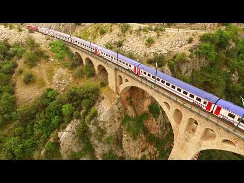 Türkiye'nin en güzel demiryolu köprüsü; Varda Köprüsü