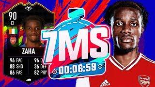 INSANE 90 FUTSWAP ZAHA!!! 7 MINUTE SQUAD BUILDER! - FIFA 19 ULTIMATE TEAM