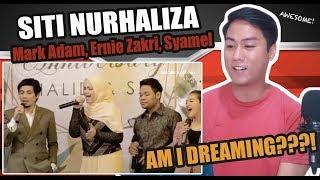 Siti Nurhaliza, Mark Adam, Ernie Zakri, Syamel - One Sweet Day | SINGER REACTS