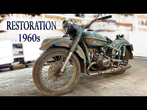 1960 Model Motosiklet Restorasyonu