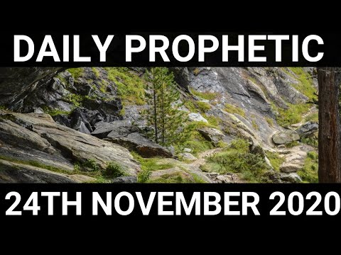 Daily Prophetic 24 November 2020 11 of 12