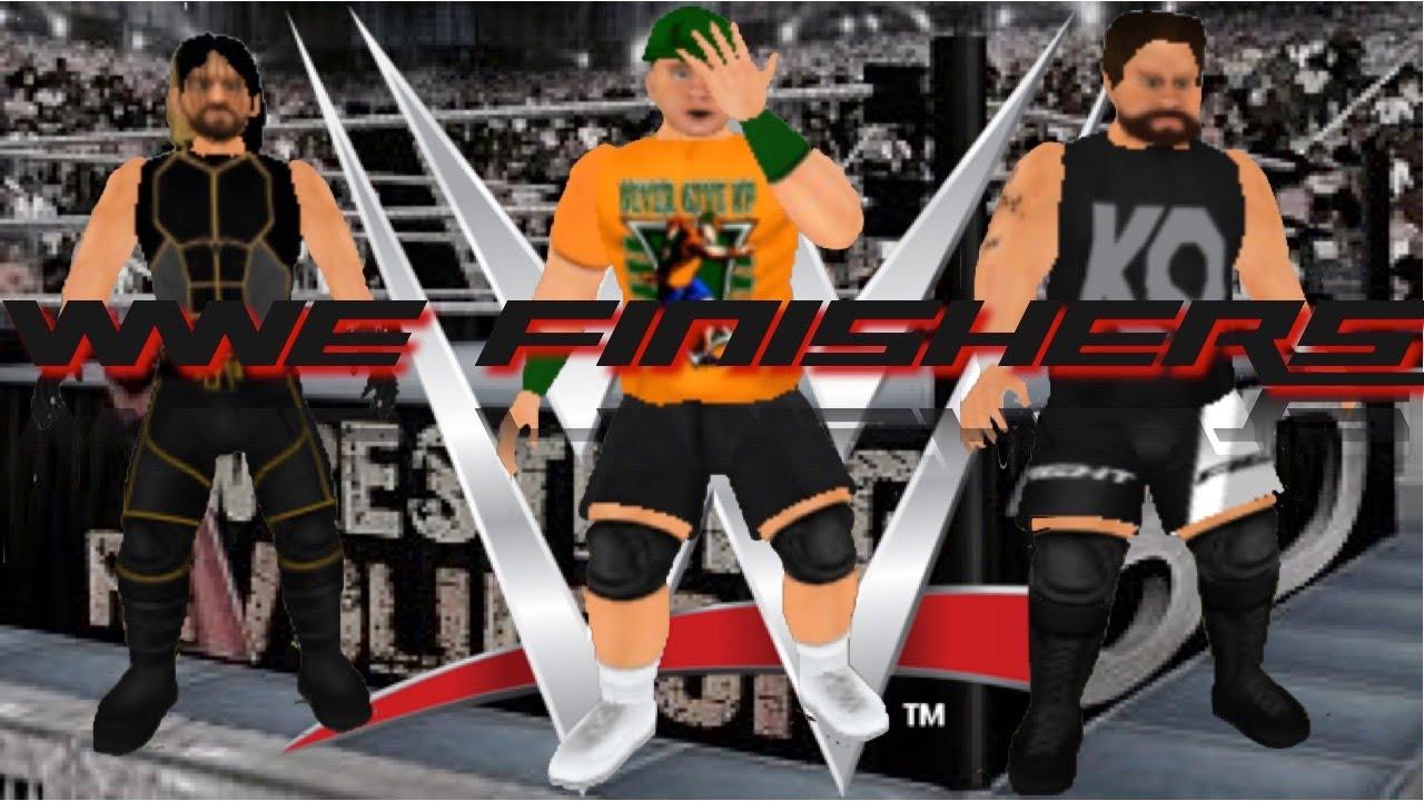 WWE FINISHERS IN WRESTLING REVOLUTION 3D | Racer lt