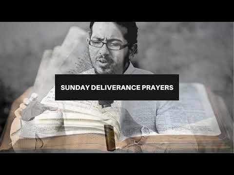 DELIVERANCE FROM EVERY DEVOURER SPIRIT, SUNDAY DELIVERANCE PRAYERS