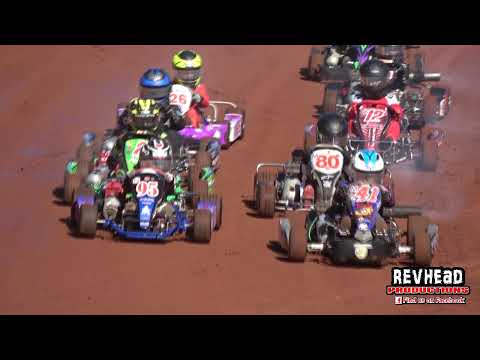 SKAA QLD Speedway Kart Titles - Highlights - Maryborough Speedway - 5/6/2021 - dirt track racing video image