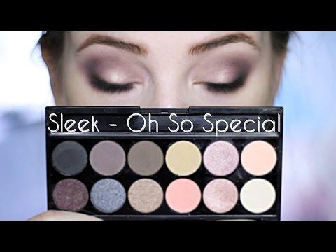 Make Up Tutorial & Review | Sleek - Oh So Special | Gleace24 - UCy3Utd8mZWQAW06kauD8oKw