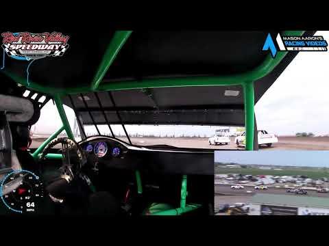 #14 Alyssa White IMCA Hobby Stock On-Board @ RRVS (6/25/21) - dirt track racing video image