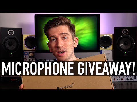 Free Fifine Microphone Giveaway