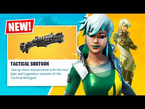New LEGENDARY TACTICAL SHOTGUN and DARE Item Shop Skin! (Fortnite Battle Royale) - UC2wKfjlioOCLP4xQMOWNcgg