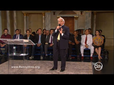 There is Healing in the Atonement - A special sermon from Benny Hinn