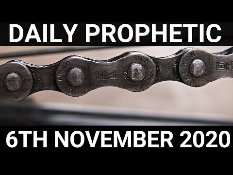 Daily Prophetic 6 November 2020 8 of 12  Subscribe for Daily Prophetic Words