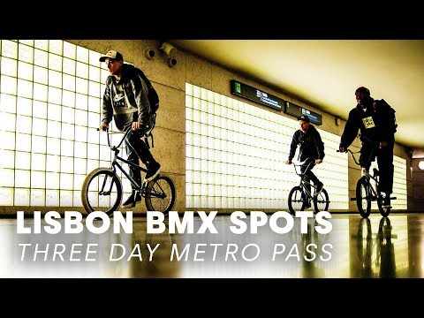 3 BMX Bikes, 3 Riders, 3 Day Metro Pass in Lisbon. - UCXqlds5f7B2OOs9vQuevl4A