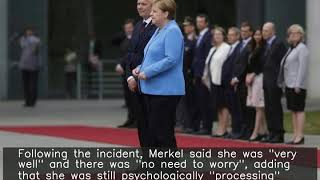 Merkel seen shaking for 3rd time in a month amid health concerns
