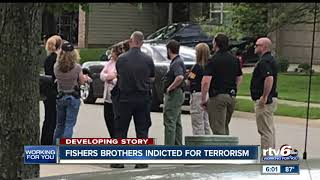 Brothers from Fishers indicted on federal terrorism and firearms charges