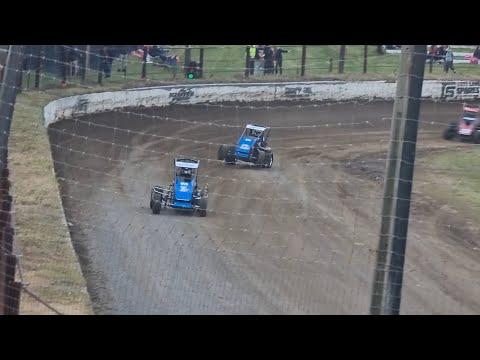 Oceanview Speedway - Opening night Midgets - 23/10/2021 - dirt track racing video image