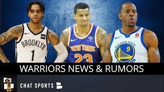 Warriors News & Rumors: Trading D'Angelo Russell? Targeting Trey Burke? & Retiring Iguodala's Number
