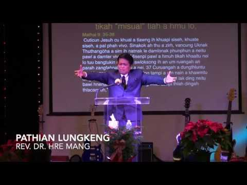 PASTOR HRE MANG  PATHIAN LUNGKENG  NEW YEAR SERMON 2019