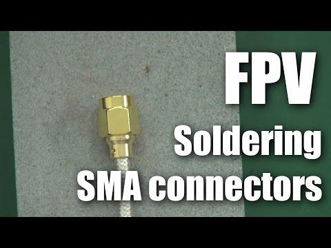 FPV: Soldering SMA connectors to RG402 coax - UCahqHsTaADV8MMmj2D5i1Vw