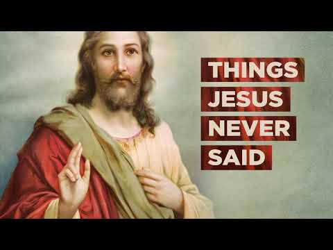 Things Jesus Never Said - Life.Church Sermon Series Promo