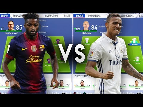 Barcelona Flops VS Real Madrid Flops - FIFA 19 Experiment