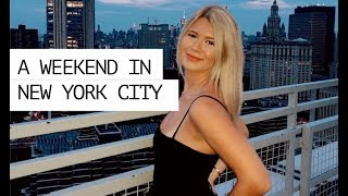 weekend in my life | NYC EDITION (apartment tour, shopping in soho, exploring)