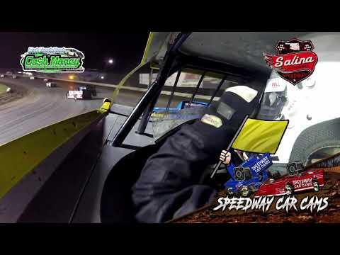 #26p Glen Powell - Cash Money Late Model - 5-1-2021 Salina Highbanks - In Car Camera - dirt track racing video image