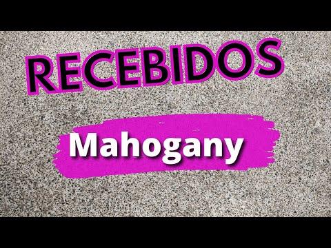 RECEBIDOS MAHOGANY ❤️