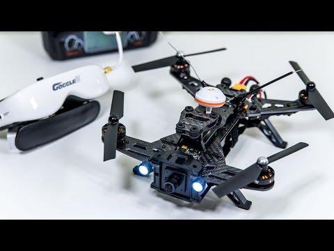 Walkera Runner 250: Racing Drone w/ FPV Goggles! REVIEW - UCgyvzxg11MtNDfgDQKqlPvQ