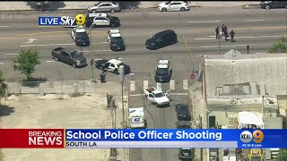 1 Injured In South LA Shooting Involving School Police Officer