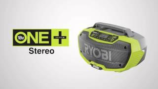Raadio Ryobi R18RH-0 - aku ja laadijata