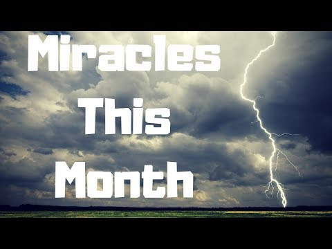 Prophetic Word For Month Of August: Lightning From Heaven...777