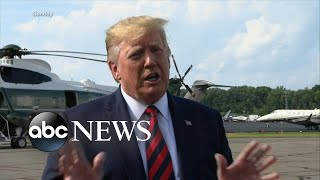 White House dismisses fears of a recession l ABC News