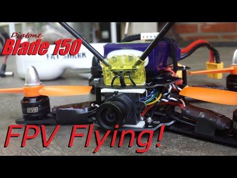 Diatone Blade 150 - Flying FPV! - UCsTrr96wMFDF9_VQY9Y2V1Q
