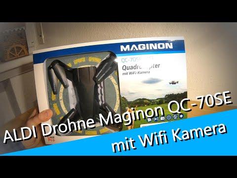 #01 Aldi Maginon Quadrokopter QC-70SE WIFI unboxing - Maginon FlyAPP - Starten - UCNWVhopT5VjgRdDspxW2IYQ
