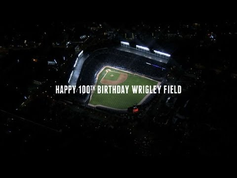 Happy 100th birthday Wrigley Field - UCoLrcjPV5PbUrUyXq5mjc_A