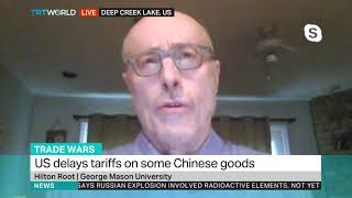 Hilton Root Joins the Discussion on Delayed U.S. Tariffs on China