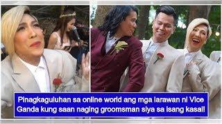 Vice Ganda's new photos as groomsman immediately go viral on social media