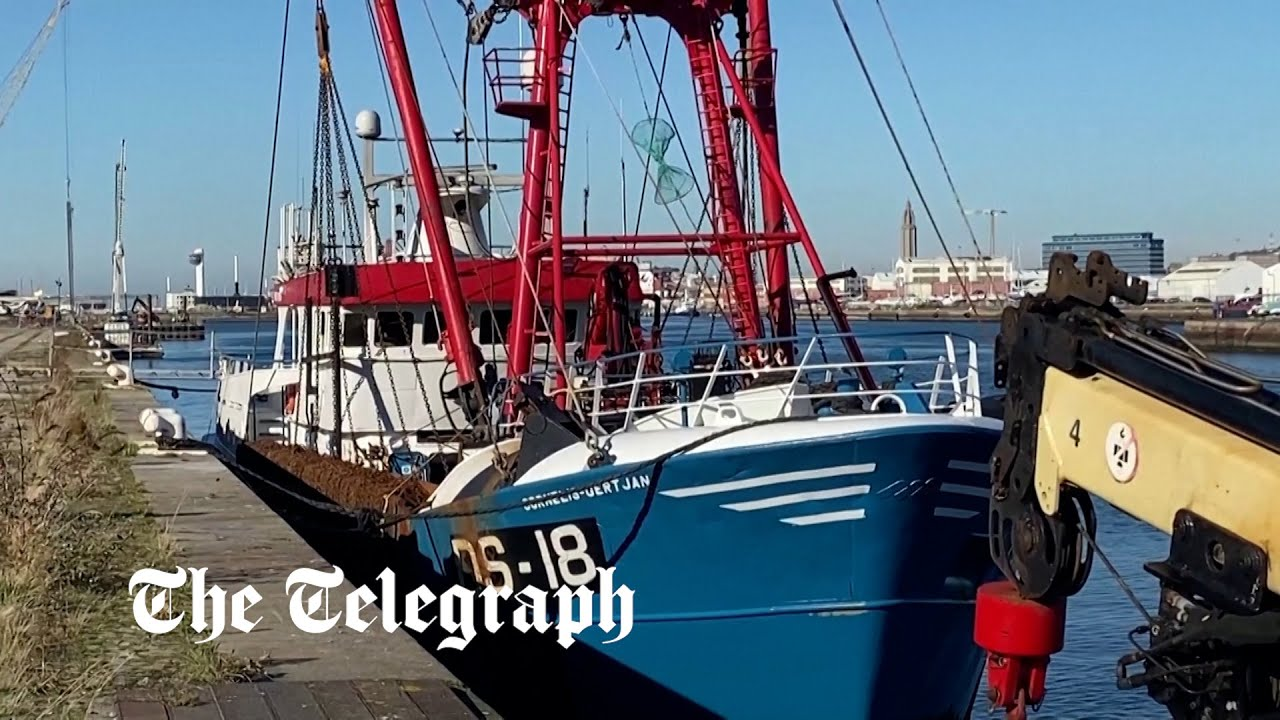 Fishing boat seized by French authorities spotted in Le Havre