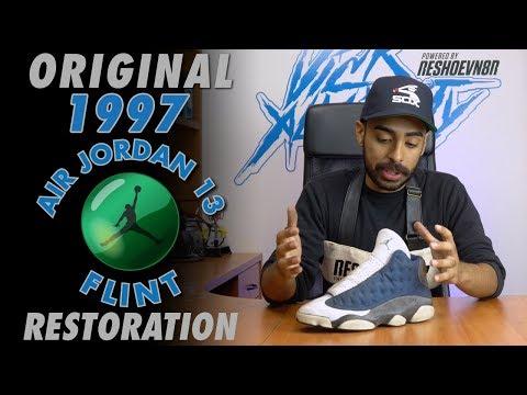 Original 1997 Air Jordan 13 Flint Restoration by Vick Almighty - default